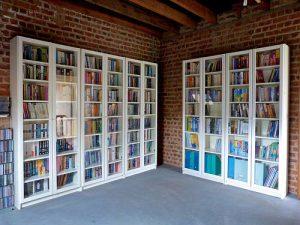White-Ikea-Bookshelves