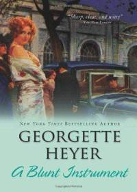 a-blunt-instrument-georgette-heyer-paperback-cover-art